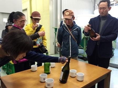 手仕事のまち歩き・片山酒造の酒蔵歩き (1)